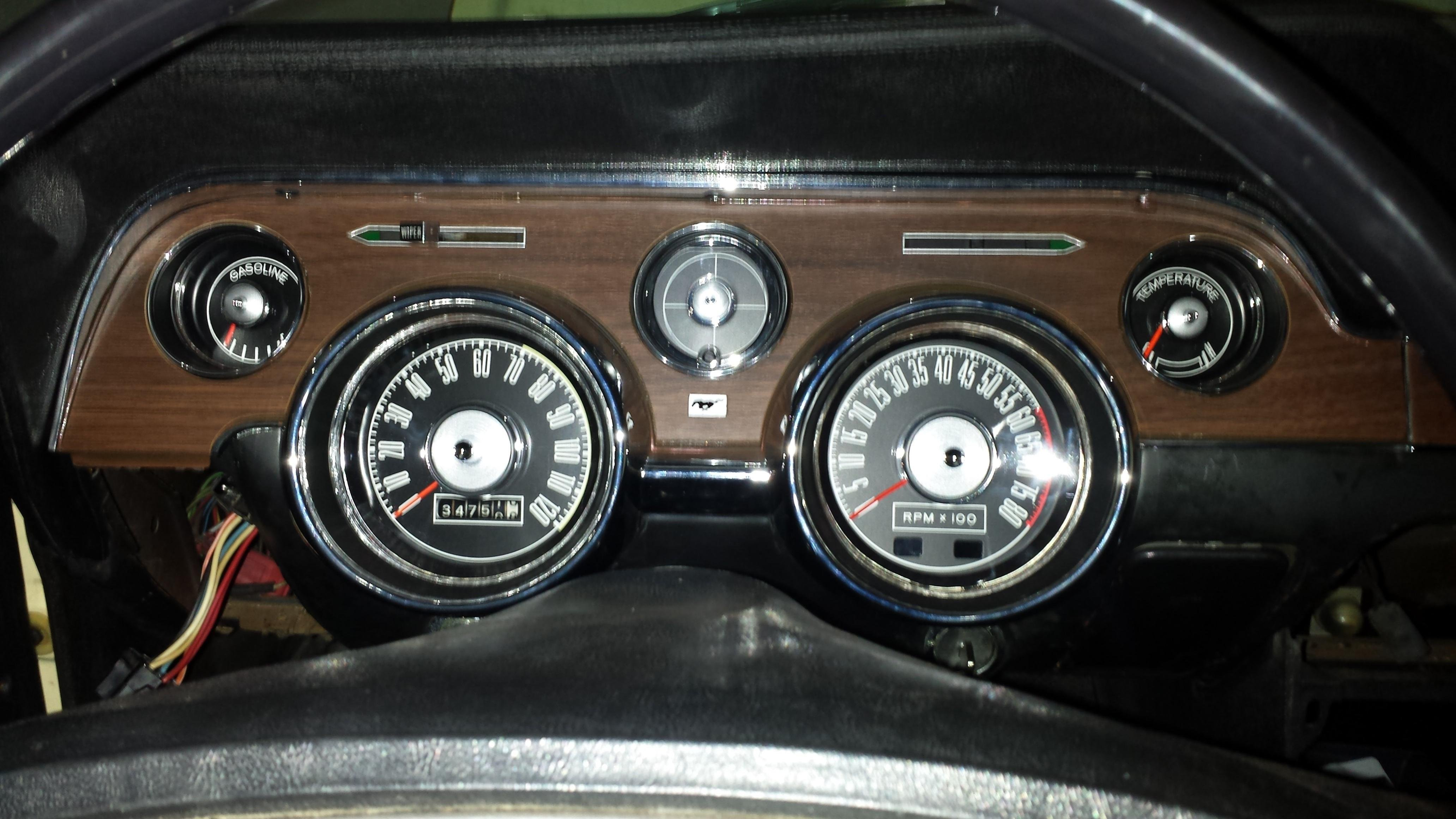 1968 Mustang Dash Pad And Tach Ford Mustang Forum