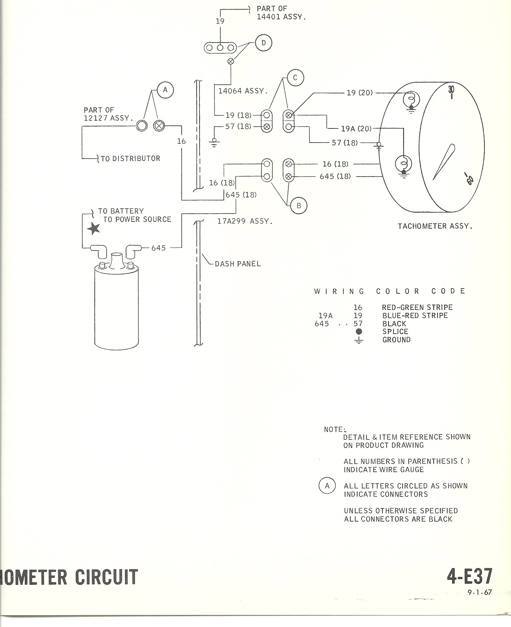 2005 Mustang Tachometer Wiring Schematics Diagram 1968 Headlight Switch Diagrams With Tach Please Help Ford Forum Faria Vintage
