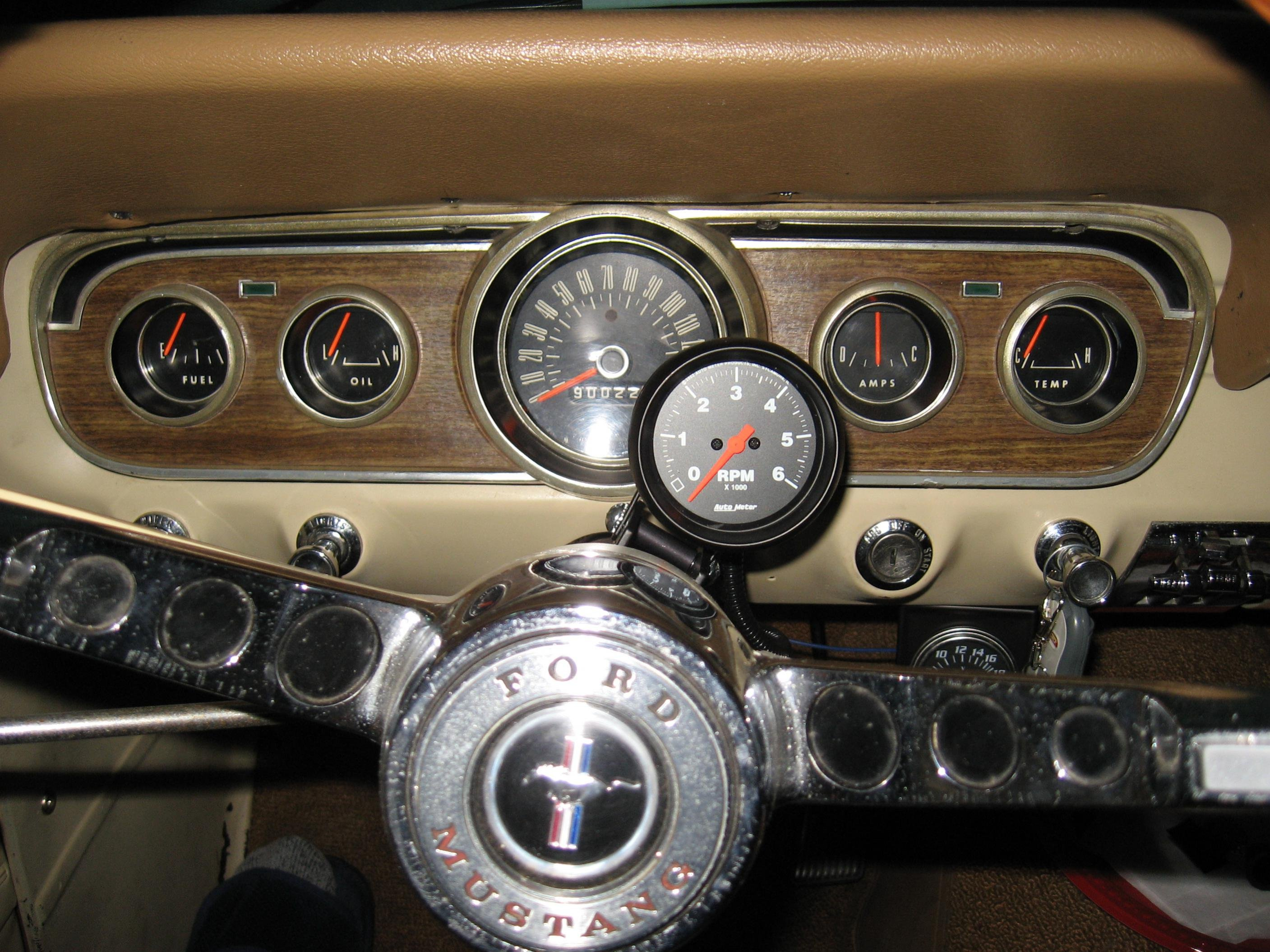 Autometer Gauge Install Location Question Ford Mustang Forum