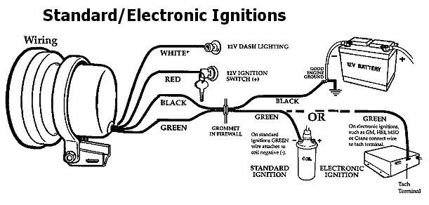 help with installing tach ford mustang forum rh allfordmustangs com aftermarket tachometer wiring diagram