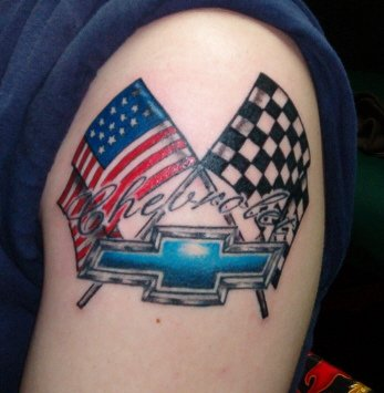 New Mustang Tattoo. Give Me Your Opinion - Ford Mustang Forums