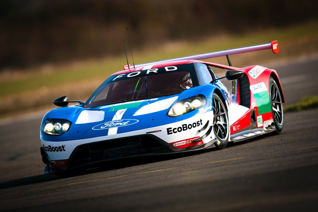 The Wec Ford Gts Have Been In Testing Action As They Prepare For Silverstone