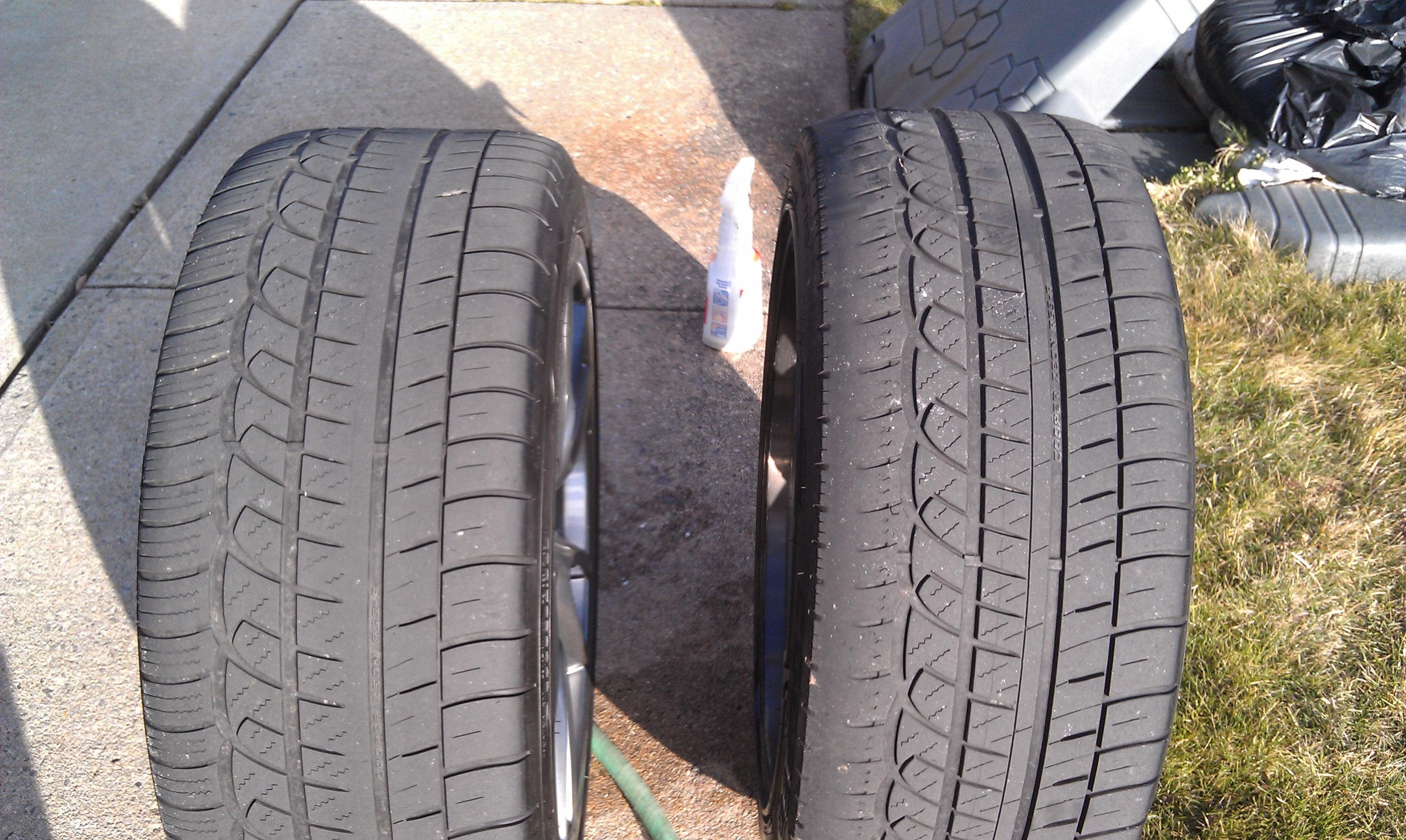 mustang uneven tire wear ford mustang forum