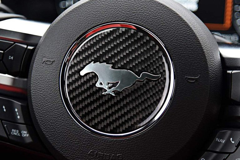 topdall carbon fiber steering wheel sticker