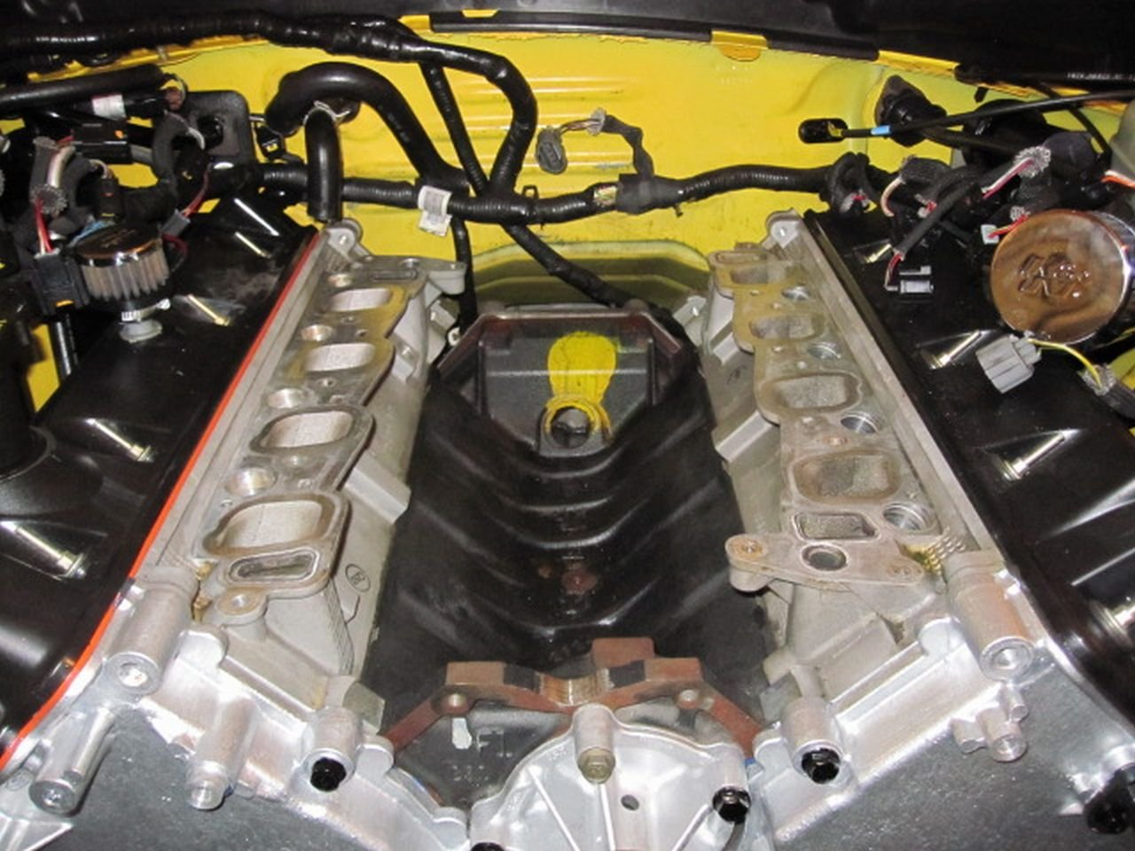 Supercharger blower intake