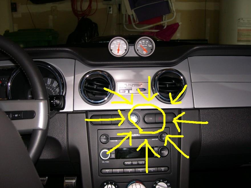2005 Mustang-How to turn off TC? - Ford Mustang Forum