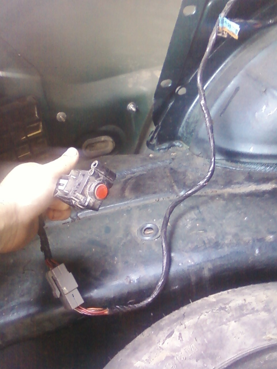 Ford Mustang V6 1994 To 2004 Why Wont Car Start Mustangforums 2000 Fuel Filter Location Ifs Switch Located Behind Trunk Paneling