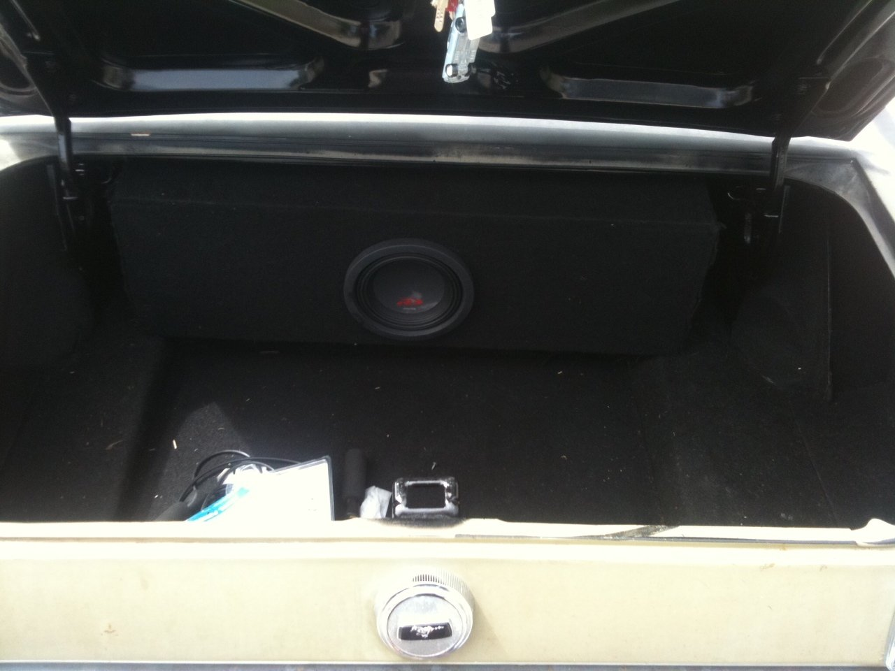 Sub Woofer in a 1967 Mustang Coupe - Any Helpful Hints