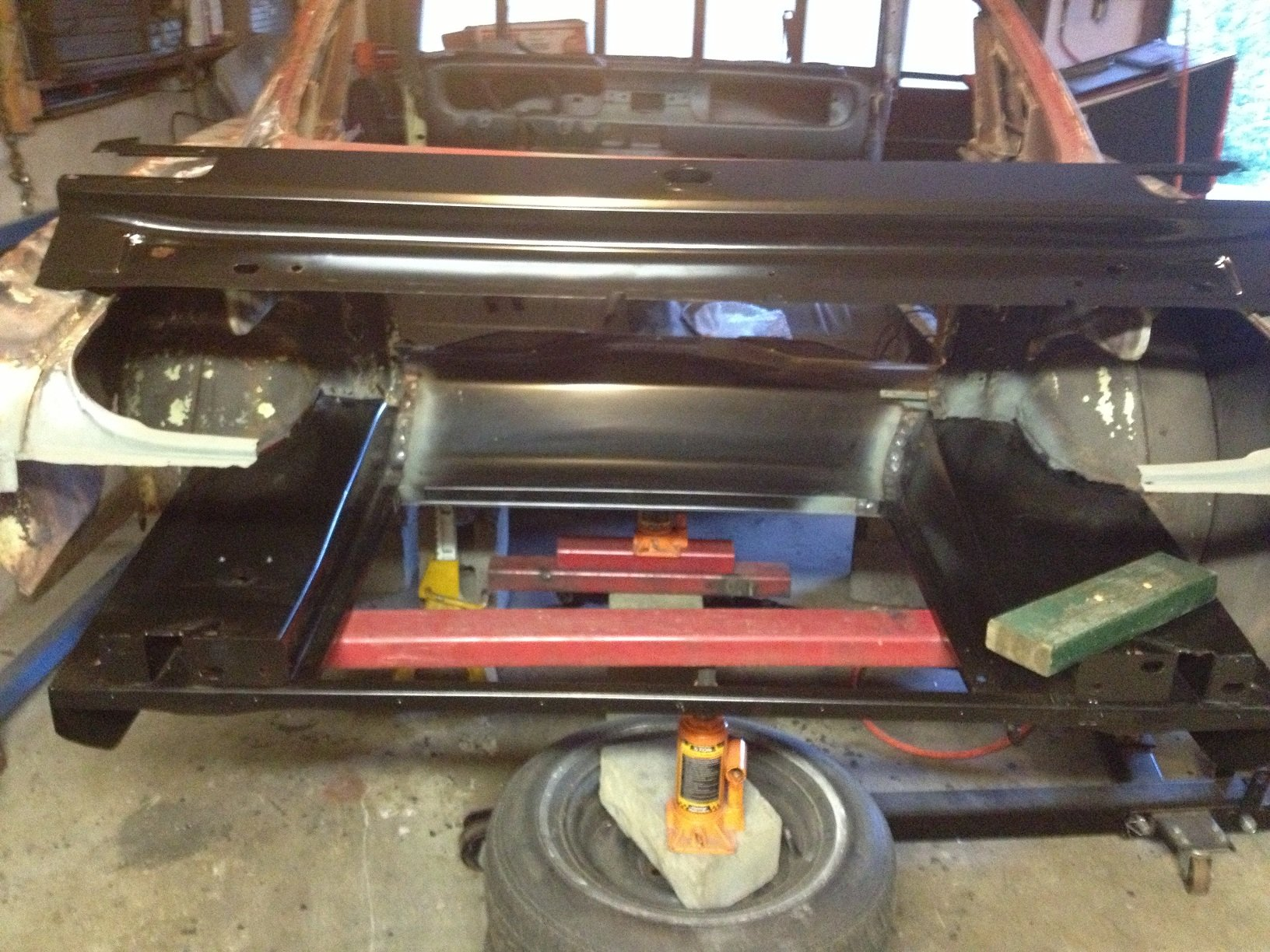 Best Way To Install 1966 Fastback Floor Pan Ford Mustang