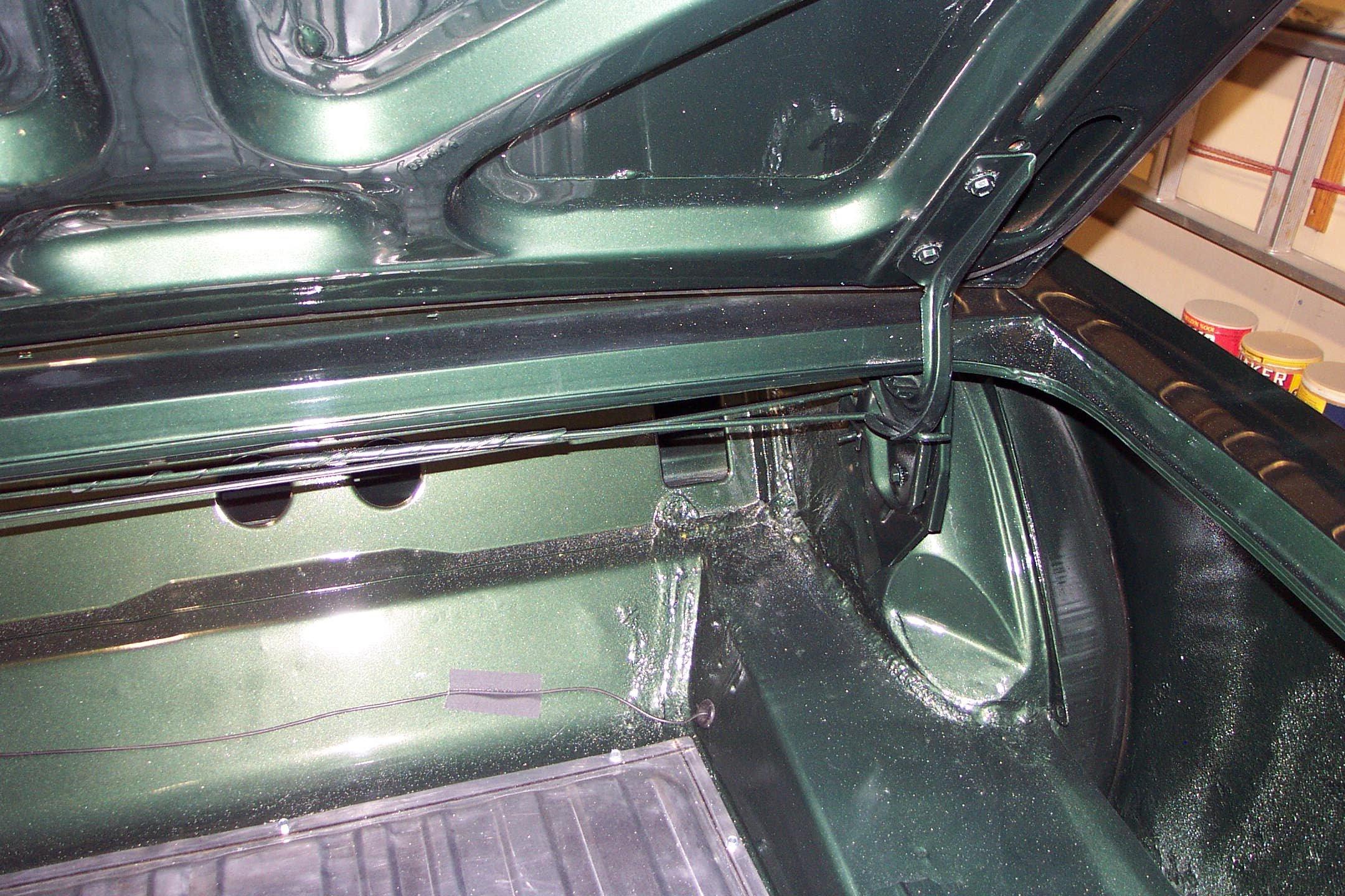 1965 Mustang Convertible Deck