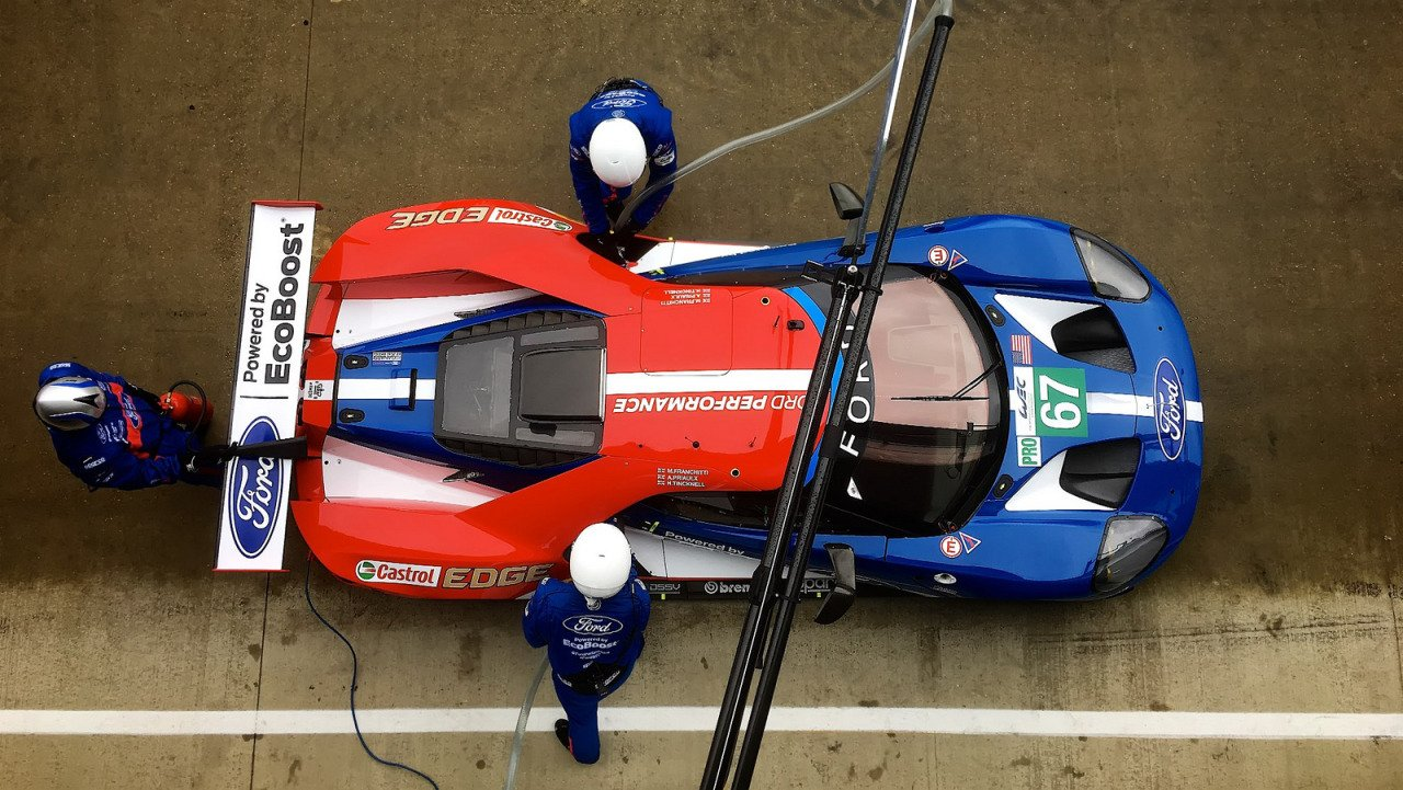 J'Accuse: Corvette Racing Says Ford Has Been Sandbagging Ahead of the 24 Hours of Le Mans