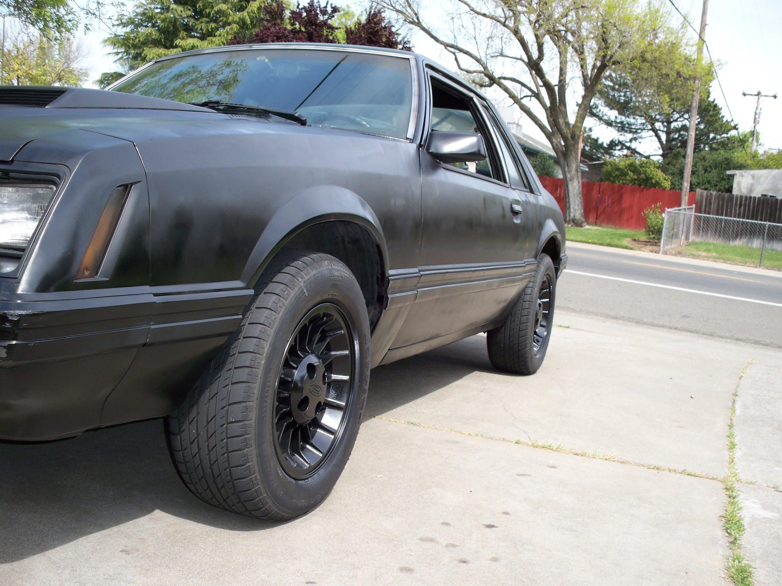 Mustang GT Wheels Turbines