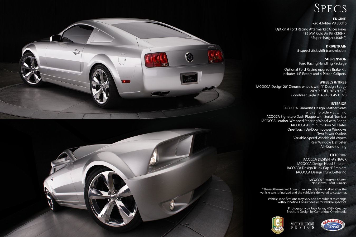 Lee Iacocca Mustang >> Lee Iacocca Mustang - Ford Mustang Forum
