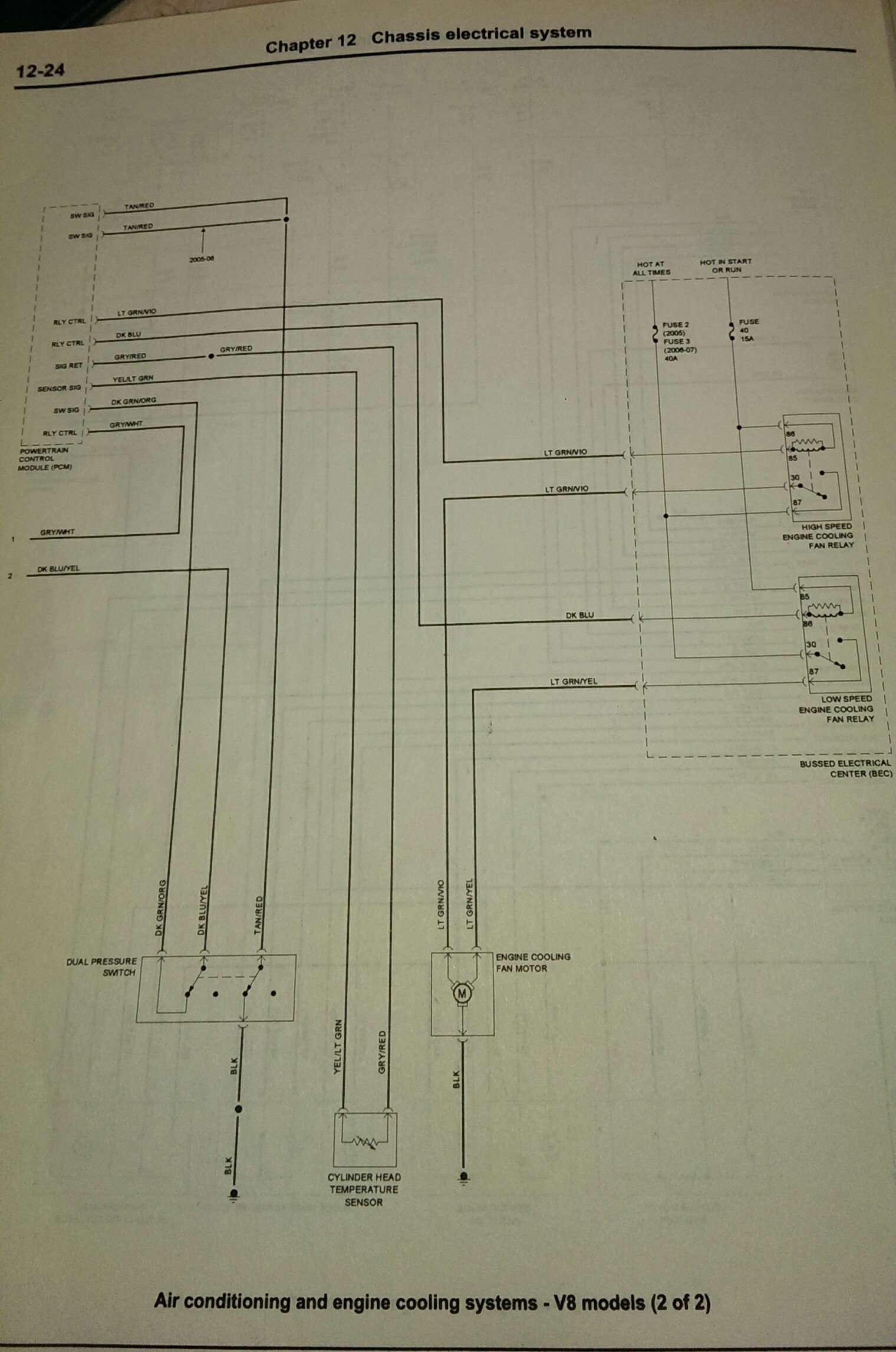 1995 mustang gt radiator fan wiring diagram cooling fan high speed mode not working ford mustang forum  cooling fan high speed mode not working