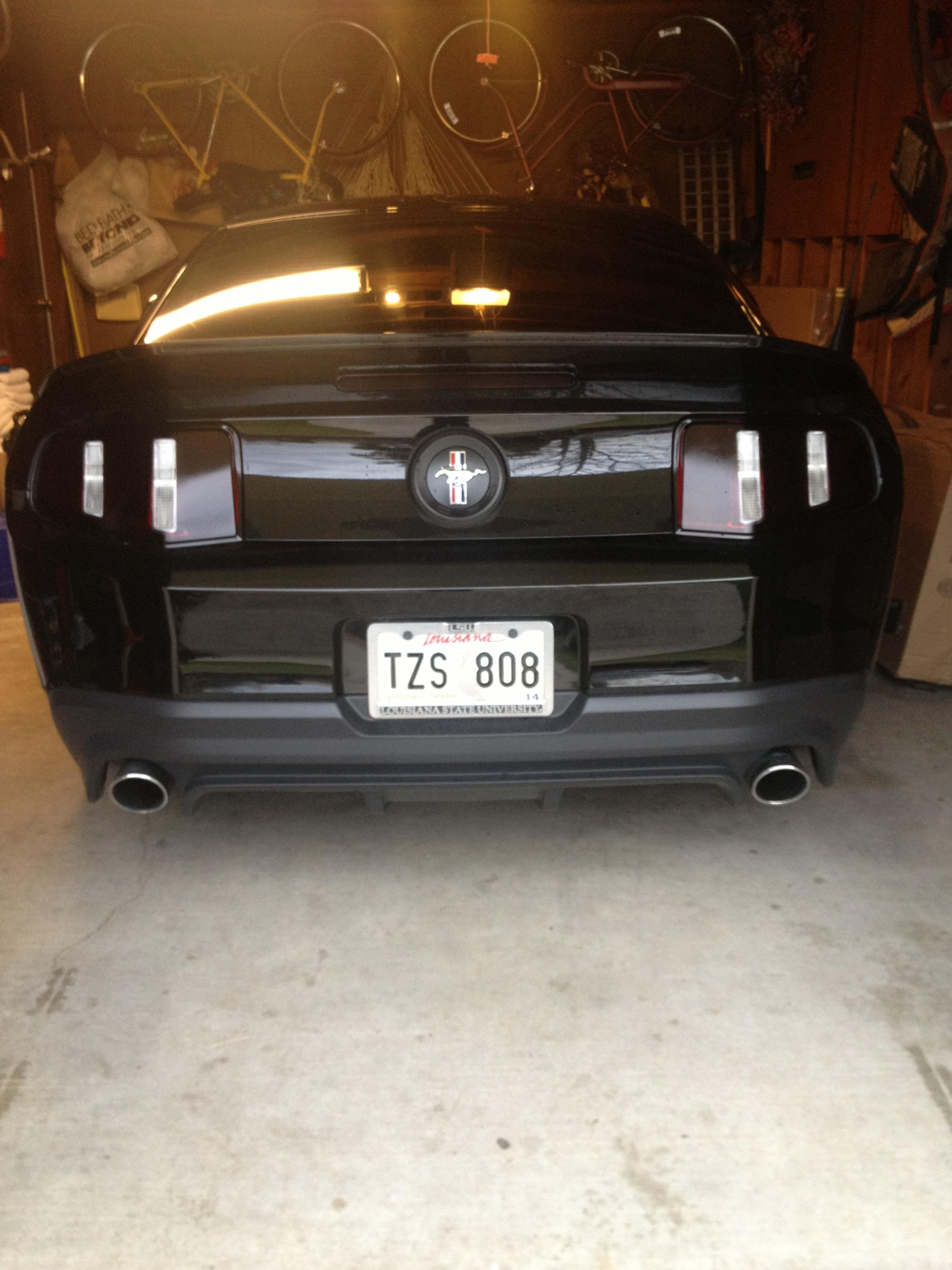 Tinting Tail Lights Ford Mustang Forum
