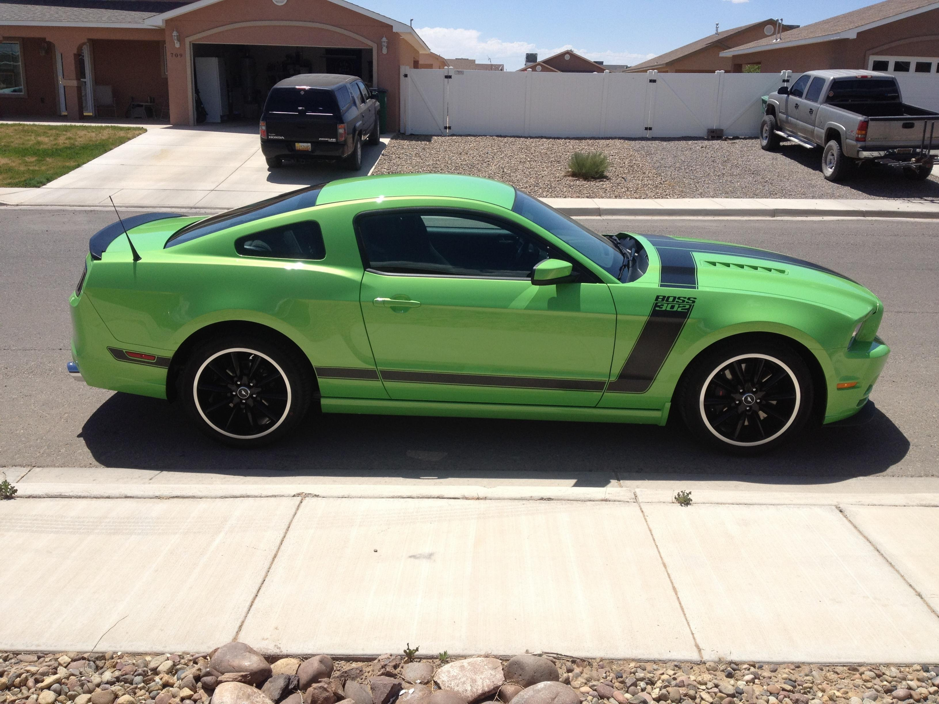 Paint Sealer and Wax on Vinyl BOSS Stripes? - Ford Mustang Forum
