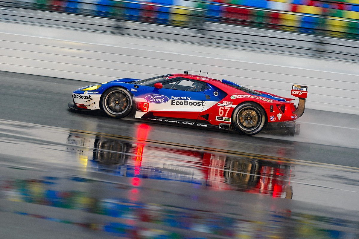 Rain Wrecks Rolex 24 Qualifying for GT\'s and DP\'s - AllFordMustangs