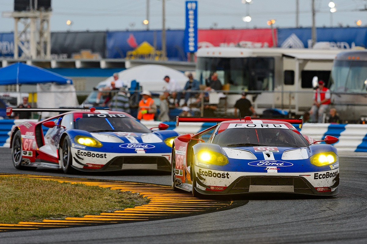 Tough Day at the Race Track for Ford Chip Ganassi Racing