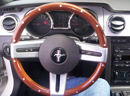 Ford Mustang Fastback >> Got a woody! (steering wheel) - Ford Mustang Forum