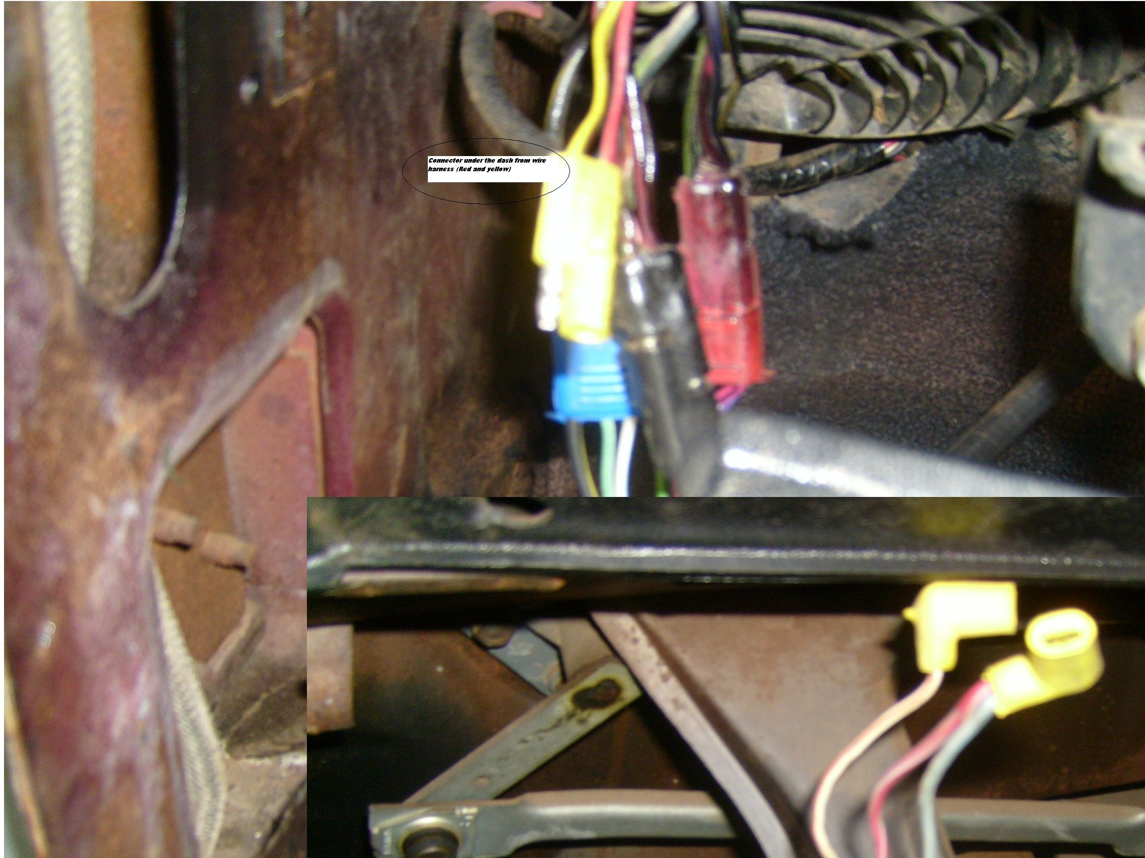 D Mustang Dash Wiring Wire Ii on Ford Factory Radio Wiring