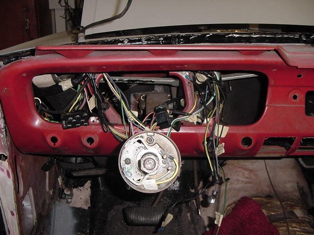 1964 to 1965 mustang wiring harness conversion discoveries ford rh allfordmustangs com  1965 mustang wiring harness