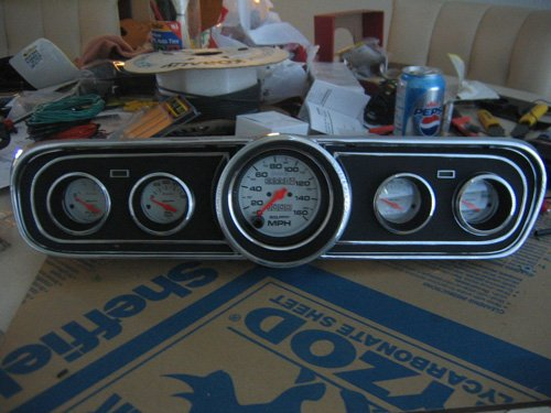 Convert 1966 Mustang Fuse Box For Newer Standard Fuse Box