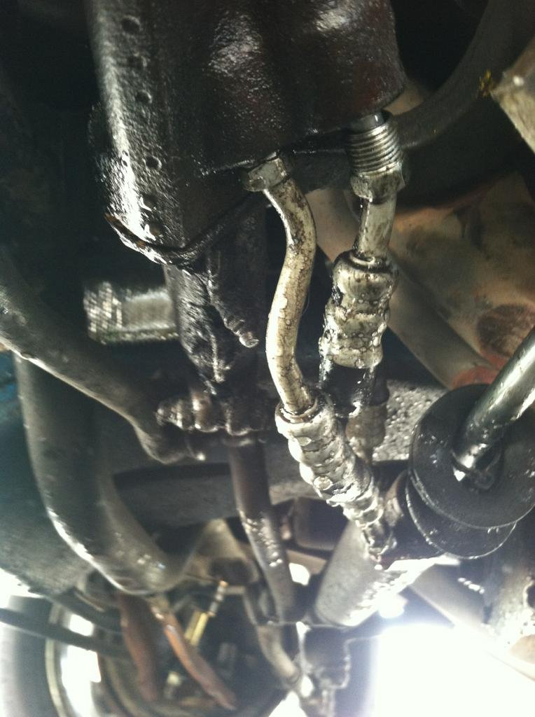 Problem With Power Steering Lines And Control Valve In