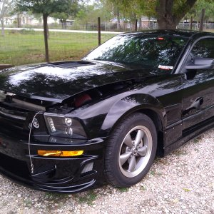 My Hot Mustang, 2006, Ford Mustang