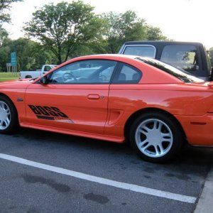 1996 Boss Mustang GT Supercharged