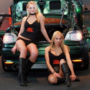 Hot Car Sow Models