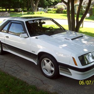 1985 Ford Mustang GT Saleen Clone