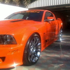 2006 ford mustang saleen s281 supercharged 465HP+
