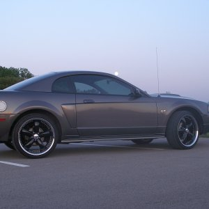 The 2003 GT at dusk
