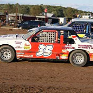 Race Photo from Humberstone Speedway