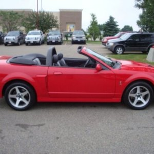 convertible TRMN8R 2003 torch red