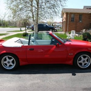 1992 Mustang Convertible Special Edition