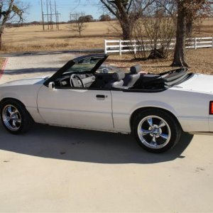 1993 5.0 5-speed LX convertible