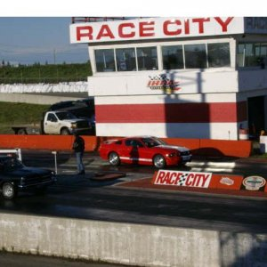 These are photos from my first race at Race City.