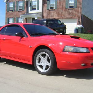 2001 Mustang GT Performance Red