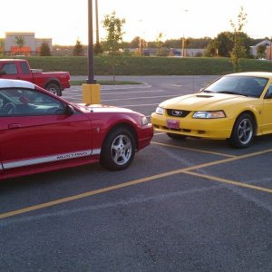 2002 Mustang V6 Convertible (Head to Head)