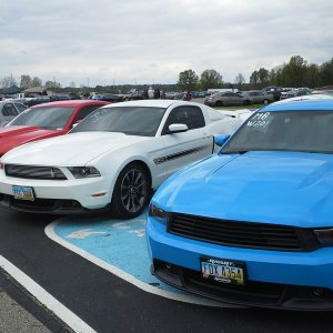 "2011 Mustang GT/CS ""Red, White & Blue"""
