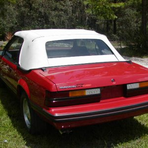 1984 Mustang GT Turbo Convertible
