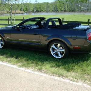 2008 GT Convertible - side view