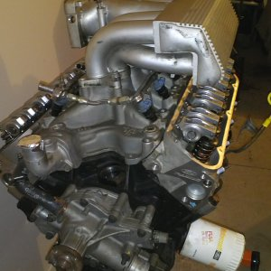 Mustang project engine