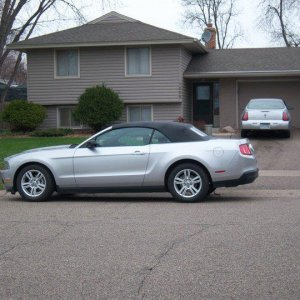 2010 Mustang Convertable