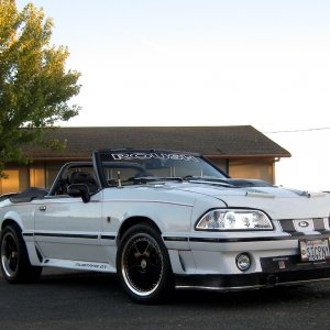 1992 Mustang LX to GT Conversion