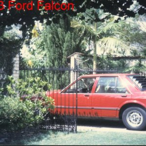 1983 XE Ford Falcon Sedan
