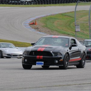 2012 GT500 Shelby Cobra at New Hampshire Speedway