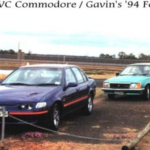 1981 VC Holden Commodore Sedan (GM)