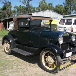 1928 Ford Model 'A' Sports Coupe
